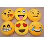 Almohadas Cojines Emoticones De Whatsapp 38x38 Cm Plumon