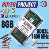 Memoria Ram Kingston Ddr3l 8gb Pc3l-12800 1600mhz Sodimm Mac