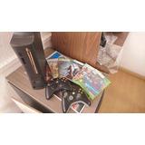 Xbox 360 120gb Chip Usado 2 Controles Perfectas Condiciones