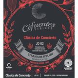 Cuerdas Guitarra Clásica Pro Jd2 Cifuentes Strings