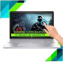 Laptop Hp Quad Core 7 Gen+12gb+1tb+ Touch+ Tarjeta De Video