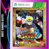 Naruto Ultimate Ninja Storm 3 Full Brus Xbox 360 Juego Nuevo