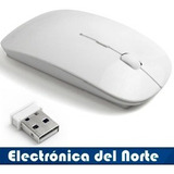 Mouse Inalambrico Wireless Slim Pc Laptop