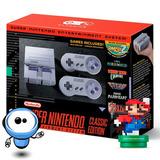Super Nintendo Mini Snes + H D M I + 2 Controles + 21 Juegos