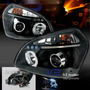 Faros Angel Eyes Hyundai Tucson 05-09