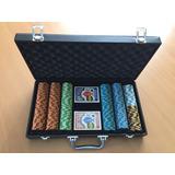 Set De 300 Fichas De Poker Montecarlo