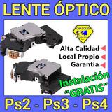 Lentes Ópticos Ps2 / Ps3 / Ps4.....|  Gratis Instalación  |