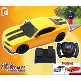 Carro A Control Remoto Y Pedales Varios Modelos Incluido Iva