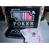 Naipes Ojo Grande Master Poker 100% Plasticos Profesionales