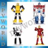 Rompecabezas Iron Man Bumblebee Optimus Megatron 3d Metalico