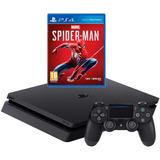 Play Sation 4 1t+spiderman /ps4 1t+3 Juegos 360 Nuevos