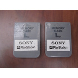 Colección/memory Card/playstation One/ Ps1/ 1mb