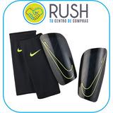 Nike Mercurial Lite Canilleras Negro Talla M Y Xs Blanco