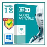 Eset Antivirus Nod32   Licencia Para 3 Pcs, 2 Años