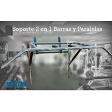 Soporte 2 En 1, Gym En Casa, Barras Y Paralelas