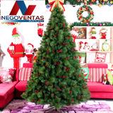 Arbol De Navidad Frondoso Aguja De Pino 180 210 Y 240cm