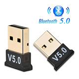 Micro Adaptador Bluetooth V5.0 Usb