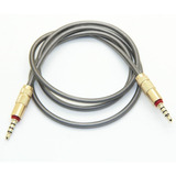 Cable Auxiliar Audio 3.5 Mm 1 Metro Metal Hd Alta Calidad