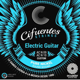 Cuerdas Guitarra Eléctrica Pure Nickel Cifuentes Strings