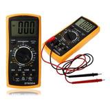 Multimetro Digital Completo Dt 9205a Tester
