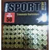 Munición De Goma Traumática 9mm X50 Y Juguetes Traumáticos