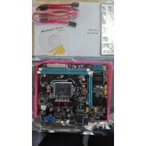 Motherboar Foxcom Chip Intel H61 Hdmi 1155 G31 G41 775 Nuevo
