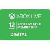Disponible Xbox Live Gold 12 Meses