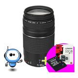 Lente Canon 75 300mm F/4-5.6 - Profesional - N U E V O S !!!