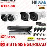 Kit 4 6 8 16 Cámaras Seguridad Vigilancia Hilook 1080p Cctv