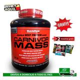Carnivor Mass Proteina De Carne Beef 6lb Eeuu + Gratis