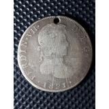 Moneda Antigua-colonial-4 Reales-1821-plata-jp.-dificil