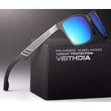 Gafas Aluminio Magnesio Polarizada 57mm Espejo Uv400 Estuche