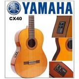Guitarra Yamaha Cx-40 Electroacustica Inc Iva Estuche Gratis