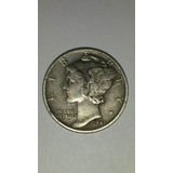 Estados Unidos! One Dime 1941 - Mercury- Plata 0,900