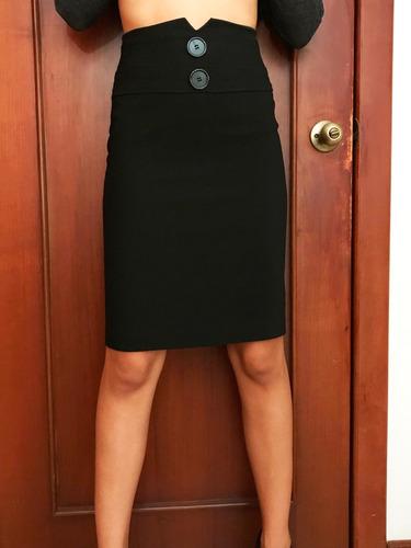 96e8ce6b5 Falda Nueva Con Mucho Estilo Color Negra Nueva De Mujer