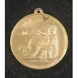 Medalla Antigua Premio A La Aplicacion 1950