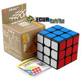 Cubo Rubik Guanlong Plus 3x3 2017 Fondo Negro Ecuarubiks