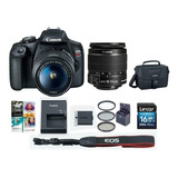 Canon Eos Rebel T7 Dslr Camera With Ef-s 18-55mm F/3.5-5.6