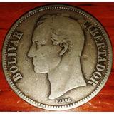 Moneda De Plata - Bolívar 1924 (venezuela)