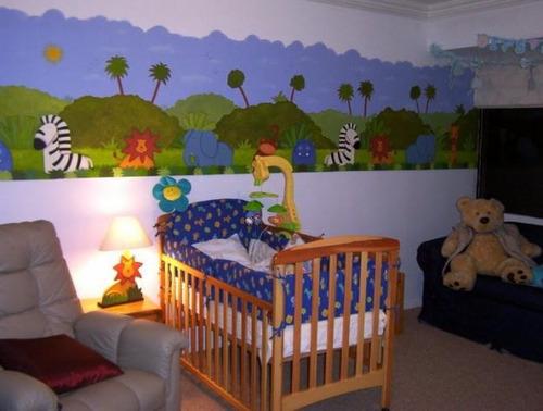 Decoración country madera para bebés - Imagui