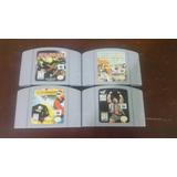 Juegos Nintendo64 Star Wars Wipeout Wwf