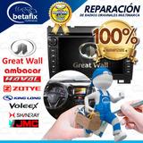 Reparación Auto Radios Great Wall Haval Zotye Jmc Byd Shiner