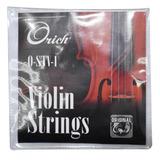 Cuerdas Para Violin Strings Orich Original Kit Completo
