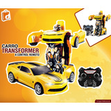 Carro A Control Remoto Robot Transformer Incluido Iva
