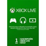 Xbox Live Gold 1 Mes - Multiregion