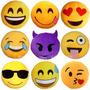 Cojin De Emoticon Emoji Bordados Originales