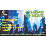 Amplificación Sonido Disco Compu Movil Alquilo Por Horas Dj