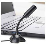Micrófono Flexible Portátil Para Laptop, Pc , Conexión Usb
