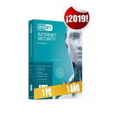 Eset Internet Security 1 Pc 1 2019  V 12 Licencia Antivirus