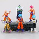 Figuras Dragon Ball Vegueta Goku Blue Crilin Freezer Piccolo